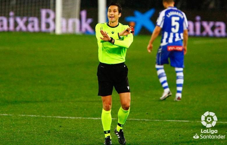 Munuera Montero, designado para el partido entre Levante y FC Barcelona