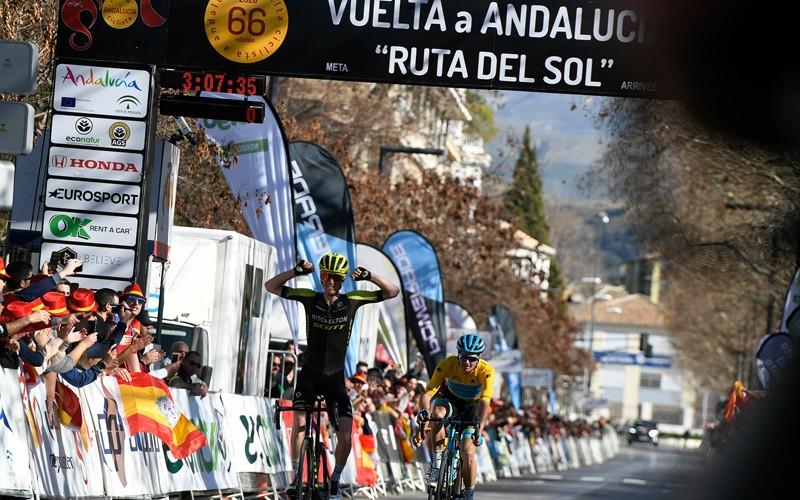La Ruta del Sol llega a Jaén con dos etapas eléctricas que serán decisivas