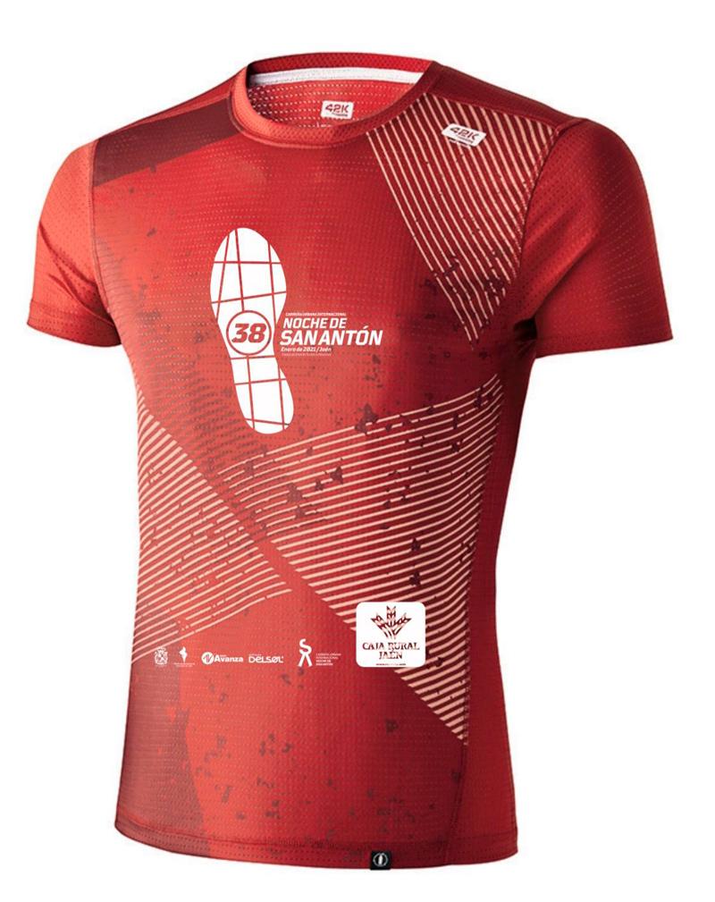 camiseta carrera san antón 2021
