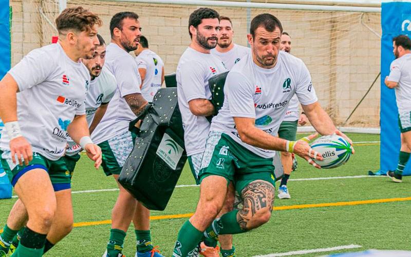 entrenamiento jaén rugby