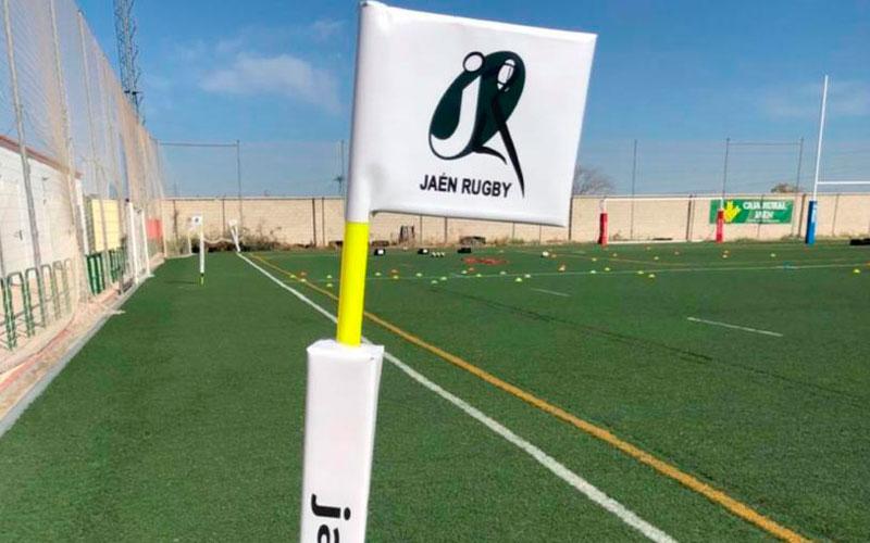 Jornada histórica para Jaén Rugby con el estreno del césped de Las Lagunillas