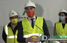 Luis Rubiales quiere que el Olivo Arena sea un centro habitual para la selección española