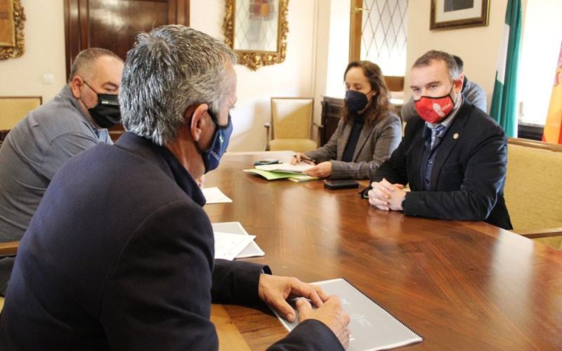 firma convenio ayuntamiento jaén federación andaluza pádel
