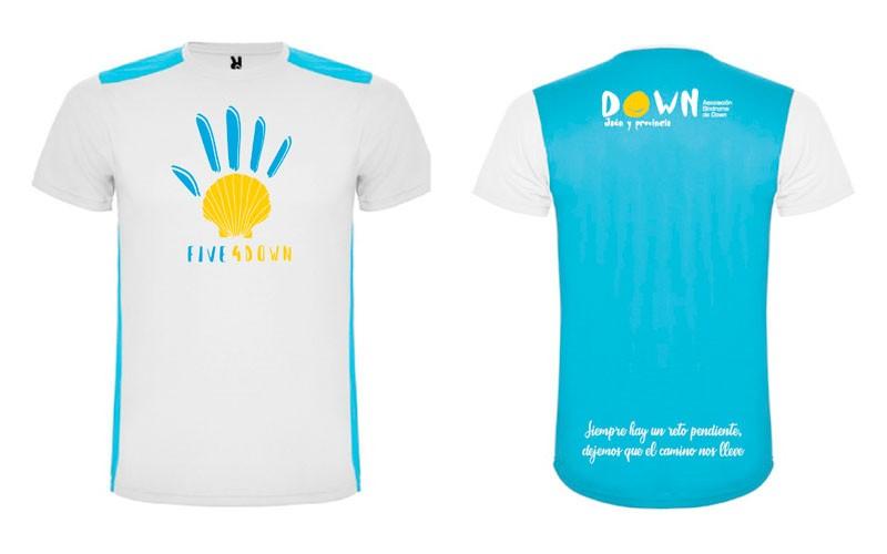 camiseta five4down