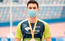 Bronce para el atleta del club jiennense. Foto: Unicaja Jaén.