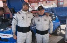 El copiloto jiennense Iván Urea inicia la temporada en el Rally Crono de Casabermeja
