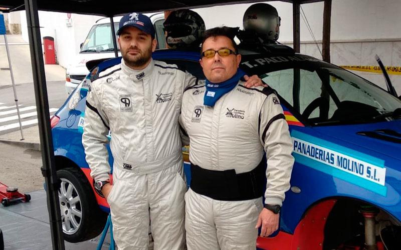 El jiennense Iván Urea cumple objetivos en el Rally Crono de Casabermeja