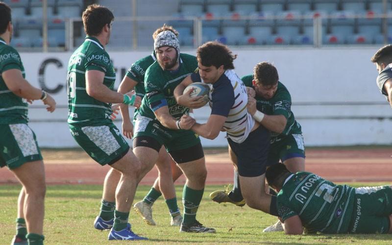 Jaén Rugby arrolla a Rugby Mairena en su partido más completo de la temporada