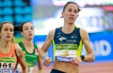 Natalia Romero, bronce en 800 m. Foto: RFEA (Miguelez Team).