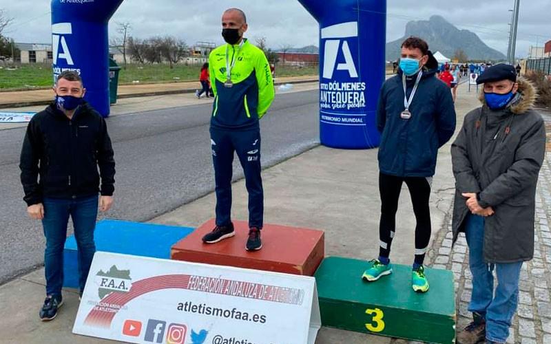 juan antonio porras campeón andalucía 20 km marcha ruta
