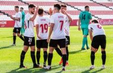 El filial sevillista, rival del Linares. Foto: Sevilla FC.