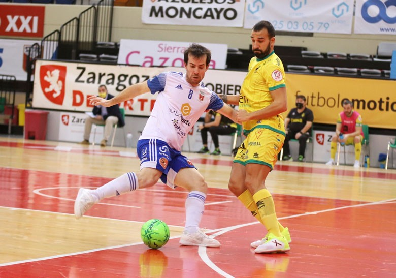 Zaragoza y Jaén FS disputaron una nueva jornada de liga