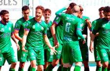 El Mancha Real golea al Poli Almería y sella el primer puesto del grupo