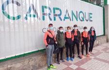 Buen punto de partida para los jóvenes del CD Bujarkay en la toma de tiempos de Málaga