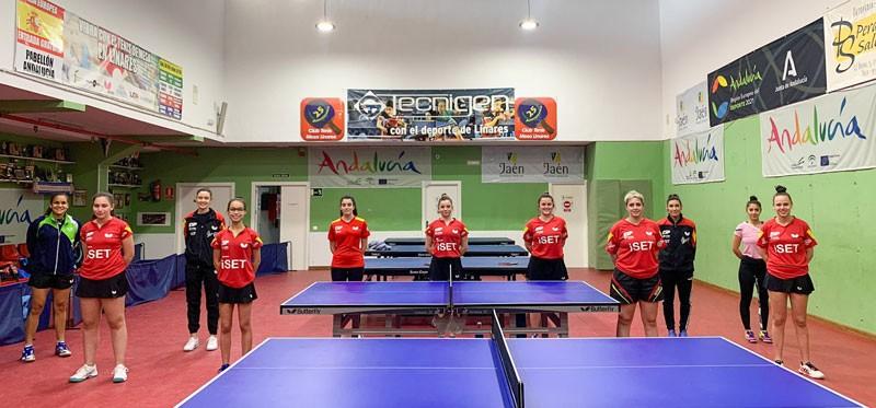 concentración sub-23 tenis de mesa femenino linares