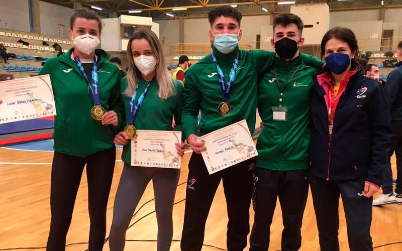Dominio del Club Power Torredelcampo en el Nacional sub-23 de luchas olímpicas