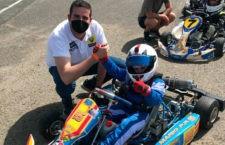 El ubetense Mario Prieto debuta en el Andaluz de Karting con 6 años