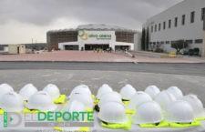 Visita al Olivo Arena de responsables de federaciones deportivas y profesionales de la cultura