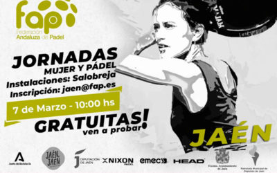 La Salobreja acogerá este 7 de marzo las jornadas 'Mujer y Pádel'