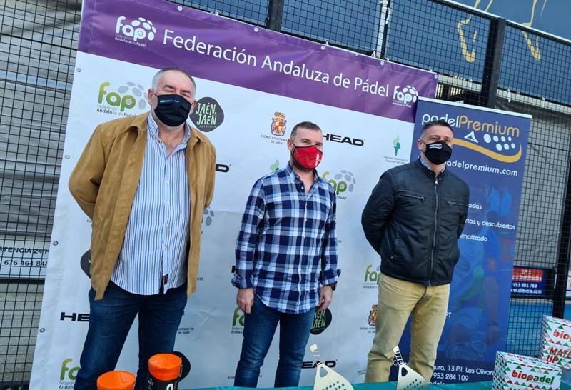 Presentación del Campeonato de Andalucía de Pádel Veterano