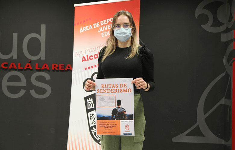 Presentación de Rutas de Senderismo en el Ayuntamiento de Alcalá la Real