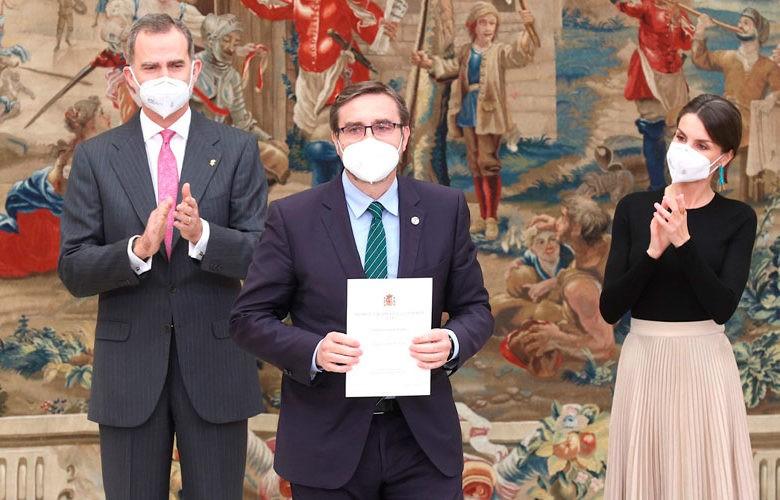 Trofeo Joaquín Blume para la Universidad de Jaén. Foto: Casa Real.