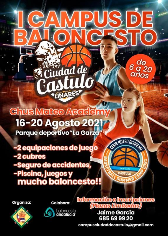 campus ciudad de castulo linares baloncesto