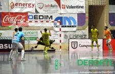 El Jaén FS cede dos puntos en el último minuto