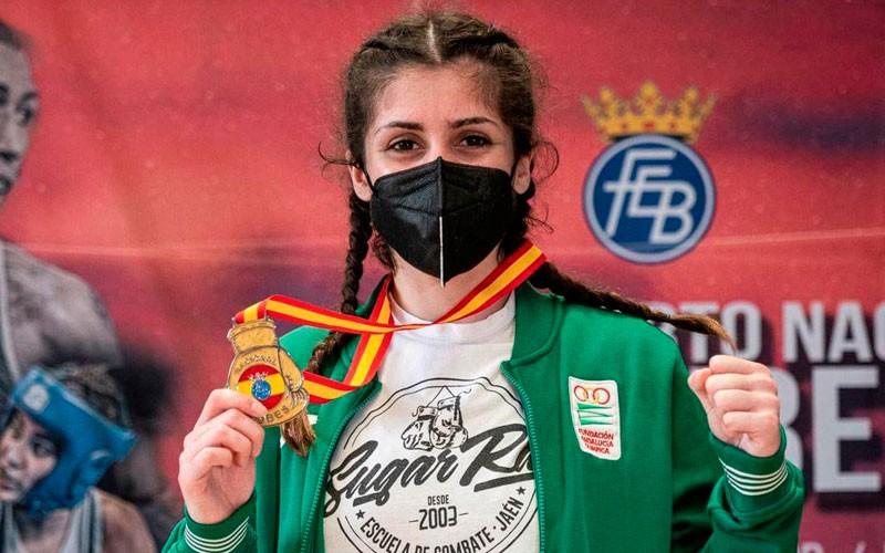 Martha López del Árbol, oro en el Abierto Nacional de Clubes de Boxeo