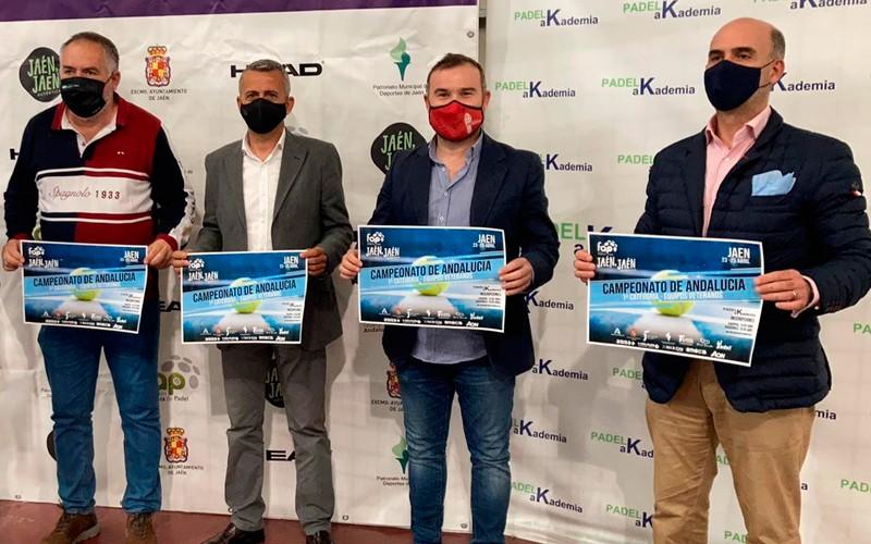 campeonato andalucia veteranos padel jaen