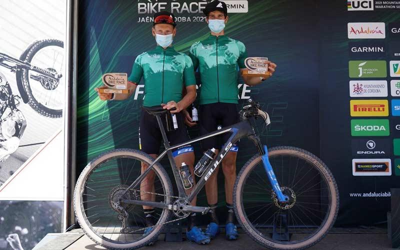 La Andalucía Bike Race se despide de Jaén con doblete del Team Bulls