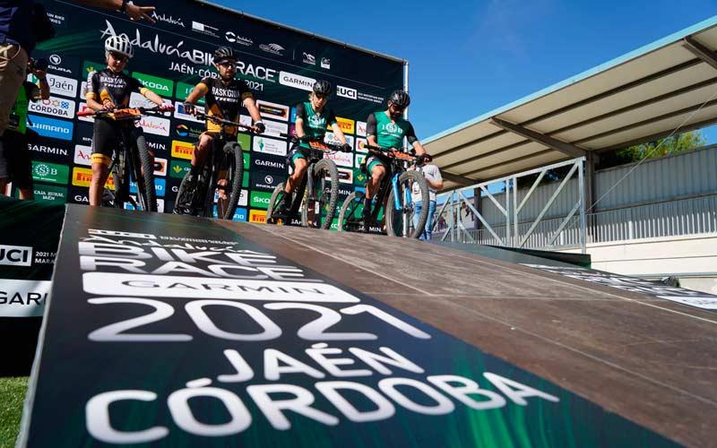 Arranca la Andalucía Bike Race con 500 ciclistas prticipantes