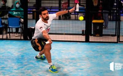 Una inoportuna lesión deja sin opciones a Luque y Del Castillo en el Vigo Open