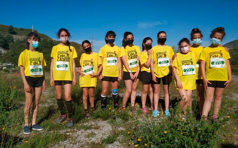Buen papel de los atletas jiennenses en el Campeonato Andaluz de CxM alevín e infantil