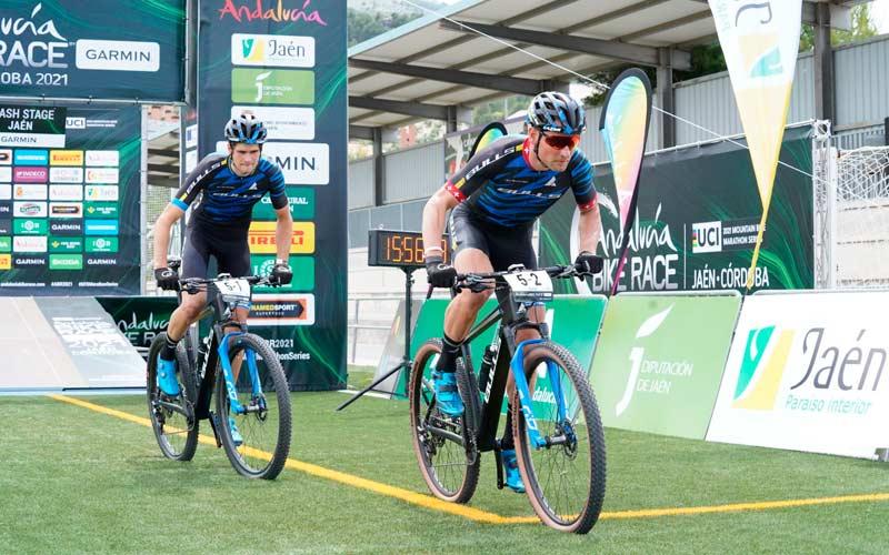 Huber – Schenller y Lutzelschwab – Stenerhag se llevan la primera etapa de la Andalucía Bike Race