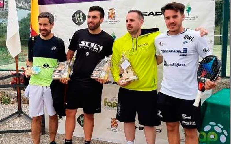 Vega y Jiménez, campeones en la prueba del Circuito Bronce Head de Alcalá la Real