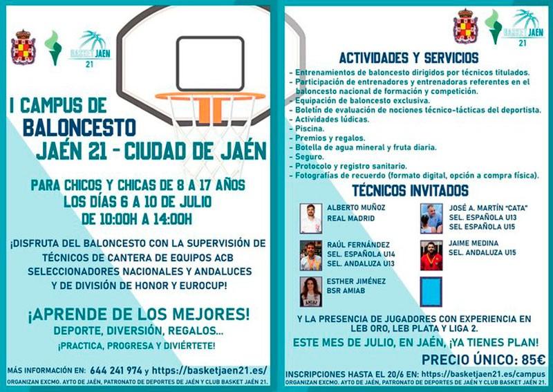 basket jaen 21 campus