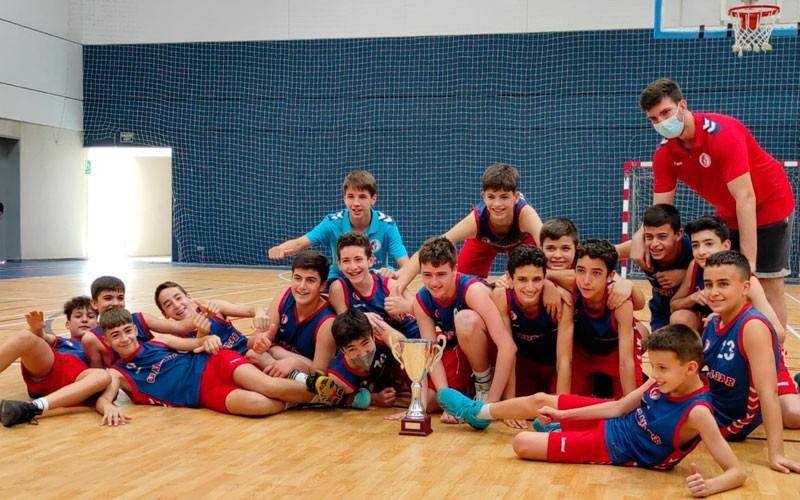 cb andujar campeon infantil copa diputacion