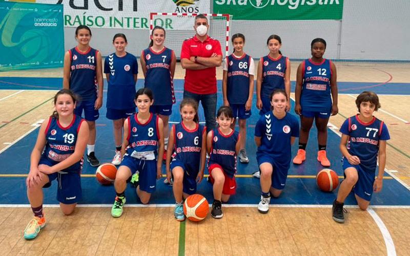 cb andujar minibasket femenino