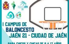 Últimos días de inscripción para el Campus Baloncesto Jaén 21 – Ciudad de Jaén