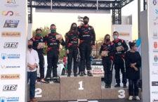 El copiloto alcalaíno David Jesús Nieto, segundo en el Nacional de Rally de Tierra