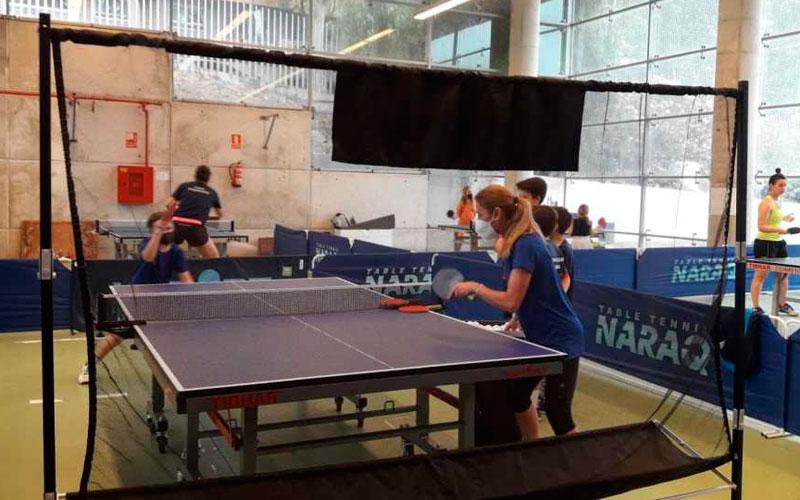 tecnificacion hujase jaen tenis de mesa