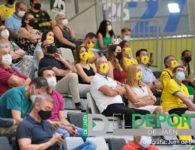 La afición en la inauguración del Olivo Arena (fotogalería)