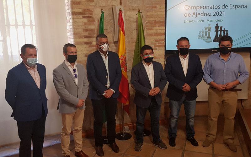 presentacion ajedrez campeonatos españa jaen