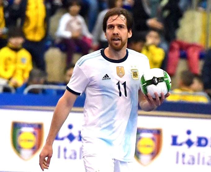 Alan Brandi, convocado con Argentina para disputar el Mundial de Lituania