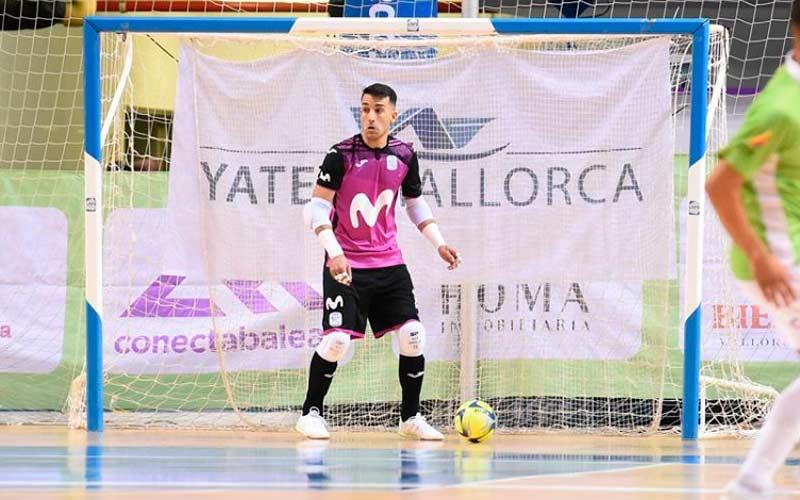 El Jaén FS oficializa la llegada del portero Álex González