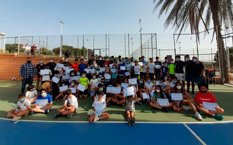 campamento verano tenis jaen club treinta iguales