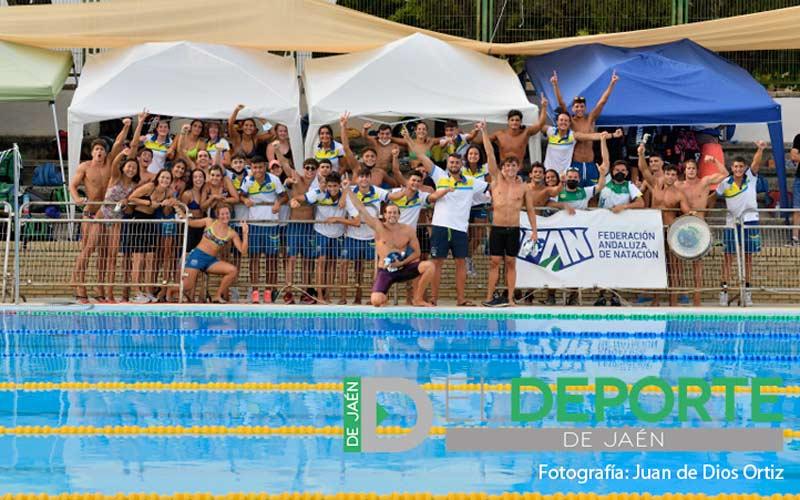 campeonato andalucia natacion jaen 2021