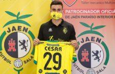 """César Velasco: """"Quería venir al Jaén FS, era mi primera opción"""""""