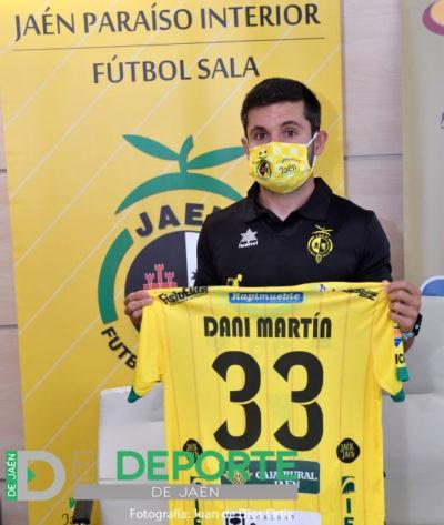 """Dani Martín regresa al Jaén FS: """"Vuelvo a casa; estoy donde quiero estar"""""""